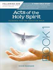 Acts of the Holy Spirit Book 1: Guidance for the Christian Walk