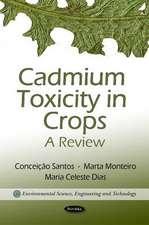 Cadmium Toxicity in Crops