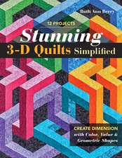 Stunning 3-D Quilts Simplified