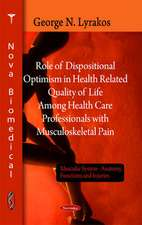 Role of Dispositional Optimism in Health Related Quality of