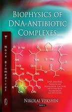 Biophysics of DNA-Antibiotic Complexes