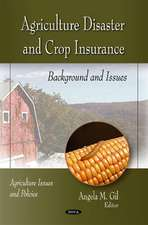 Agriculture Disaster & Crop Insurance