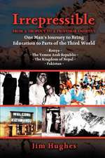 Irrepressible - From a Dropout to a Professor Emeritus--One Man's Journey to Bring Education to Parts of the Third World