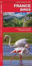 France Birds: A Folding Pocket Guide to Familiar Species