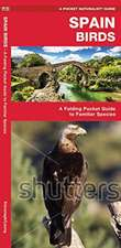 Spain Birds: A Folding Pocket Guide to Familiar Species
