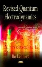 Revised Quantum Electrodynamics