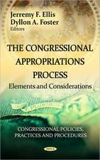 Congressional Appropriations Process