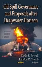 Oil Spill Governance and Proposals After Deepwater Horizon