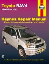 Toyota Rav4 1996 Thru 2012:  2003 Thru 2012
