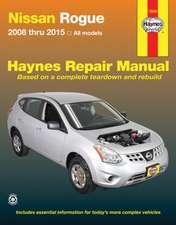 Nissan Rogue 2008 Thru 2015 All Model
