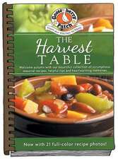 Harvest Table updated with photos