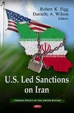 U.S. Led Sanctions on Iran