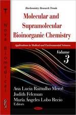Molecular & Supramolecular Bioinorganic Chemistry
