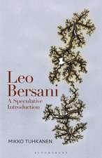 Leo Bersani: A Speculative Introduction