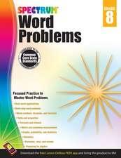 Spectrum Word Problems, Grade 8