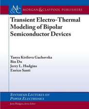 Transient Electro-Thermal Modeling of Bipolar Power Semiconductor Devices