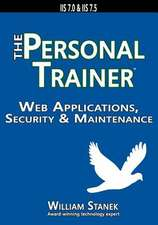 Web Applications, Security & Maintenance