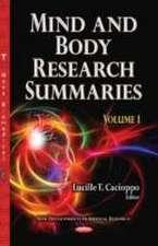 Mind & Body Research Summaries