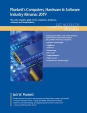 Plunkett's Computers, Hardware & Software Industry Almanac 2019