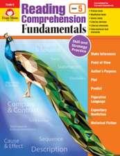 Reading Comprehension Fundamentals, Grade 5