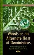 Weeds as an Alternate Host of Geminivirus