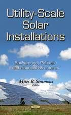 Utility-Scale Solar Installations