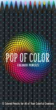 Creioane de colorat: Pop of Color Pencil Set
