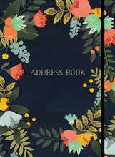 Address Book Modern Floral Small