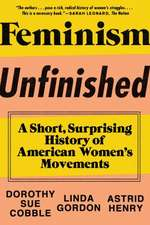 Feminism Unfinished – A Short, Surprising History of American Women`s Movements