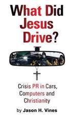 What Did Jesus Drive