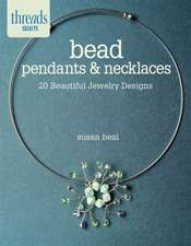 Bead Pendants & Necklaces:  20 Beautiful Jewelry Designs