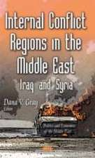 Internal Conflict Regions in the Middle East