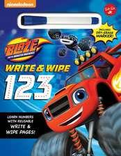 Nickelodeon's Blaze and the Monster Machines Chalkboard 123