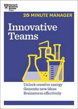 Innovative Teams:  How to Solve the Puzzle of Sustaining Growth While Creating Value