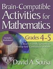 Brain-Compatible Activities for Mathematics, Grades 4-5