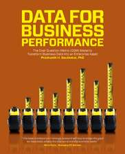 Data for Business Performance: The Goal-Question-Metric (GQM) Model to Transform Business Data into an Enterprise Asset