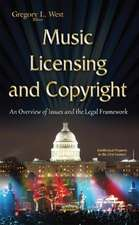 Music Licensing & Copyright: An Overview of Issues & the Legal Framework