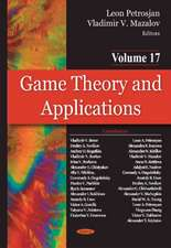 Game Theory & Applications: Volume 17 -- Game-Theoretic Models in Mathematical Ecology