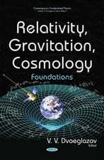 Relativity, Gravitation, Cosmology: Foundations
