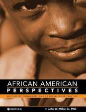 African American Perspectives: Matters of Consideration for Social Work Practice
