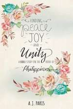 Finding Peace, Joy and Unity