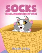 Socks the Laundromat Cat