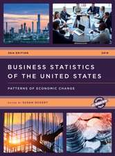 Business Statistics of the United States 2018