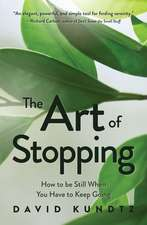 Art of Stopping