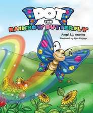 Dot the Rainbow Butterfly