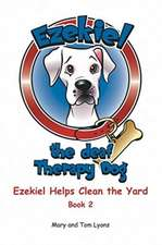 Ezekiel Helps Clean the Yard