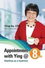 Appointment with Ying @ 8am