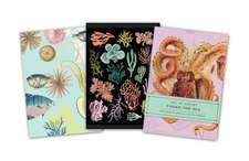 Art of Nature: Under the Sea Sewn Notebook Collection (Set of 3)