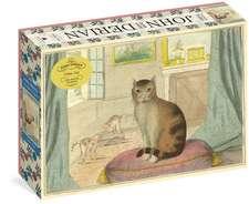 John Derian Paper Goods: Calm Cat 750-Piece Puzzle