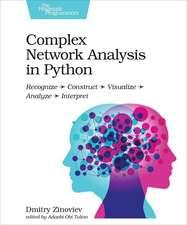 Complex Network Analysis in Python